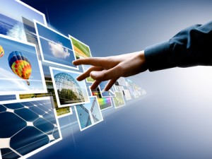 hand reaching images streaming for website design